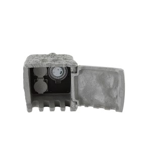 Розетка уличная с таймером Globo 37001-2Z, серый, 220V, 2x3680W