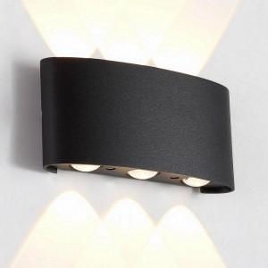 Уличный настенный светодиодный светильник Crystal Lux CLT 023W3 BL