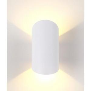 Уличный настенный светодиодный светильник Crystal Lux CLT 134W WH