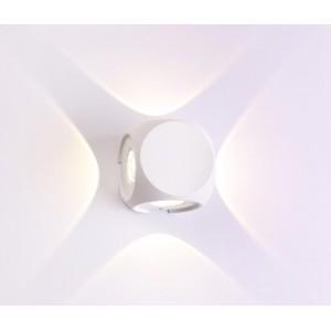 Уличный настенный светодиодный светильник Crystal Lux CLT 330W4 WH