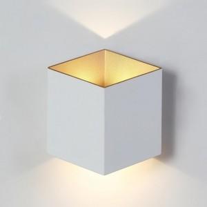 Уличный настенный светодиодный светильник Crystal Lux CLT 227W WH-GO
