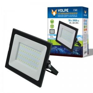 Прожектор светодиодный Volpe ULF-Q513 70W/6500K IP65 220-240В Black UL-00004343