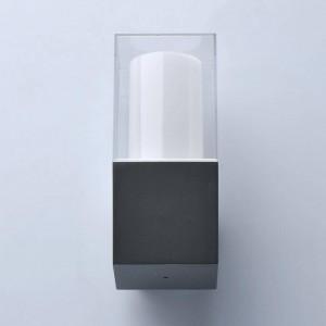 Уличный настенный светодиодный светильник De Markt Меркурий 9 807023301