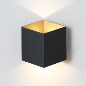Уличный настенный светодиодный светильник Crystal Lux CLT 227W BL-GO