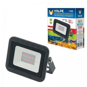 Прожектор светодиодный Volpe 10W ULF-Q511 10W/Red IP65 220-240В Black UL-00002559