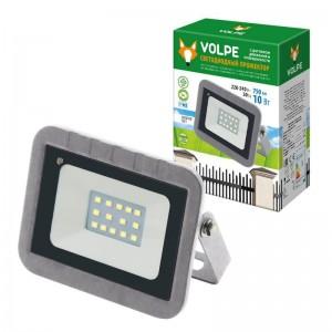 Прожектор светодиодный Volpe 10W 6500К ULF-Q592 10W/DW Sensor IP65 220-240B Silver UL-00003347