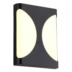 Уличный настенный светодиодный светильник Crystal Lux CLT 440W BL