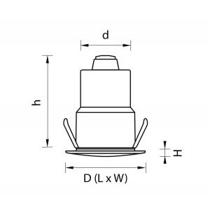 Ландшафтный светодиодный светильник Lightstar Ipogeo (384415+384025) ip384425