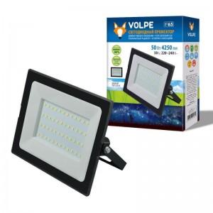 Прожектор светодиодный Volpe ULF-Q513 50W/6500K IP65 220-240В Black UL-00004342