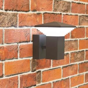 Уличный настенный светильник светодиодный Citilux CLU02W Черный