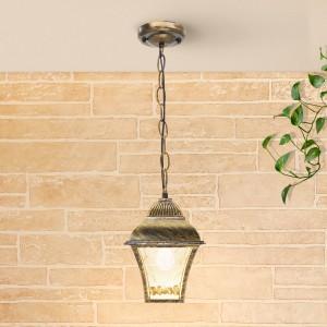 Apus H черное золото уличный подвесной светильник GL 1009H