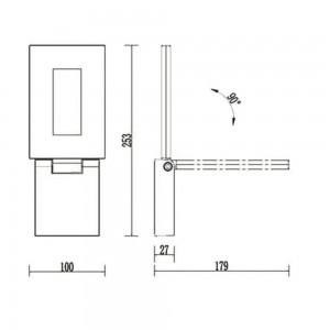 Уличный светильник Flicker 1824-1W