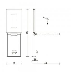 Уличный светильник Flicker 1825-1W