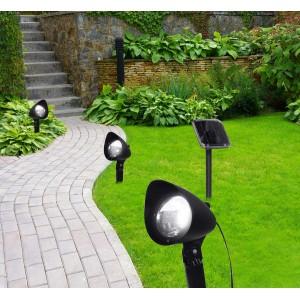 Светильник уличный Globo 33027-3, черный, LED, 1x0,06W