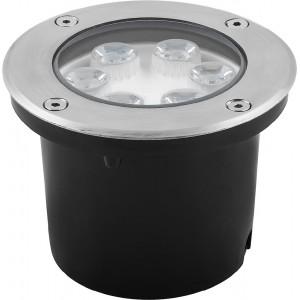 Светодиодный светильник тротуарный (грунтовый) Feron SP4112 6W зеленый 230V IP67