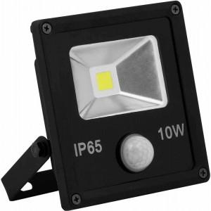 Светодиодный прожектор Feron с встроенным датчиком LL-860 IP65 10W 6400K