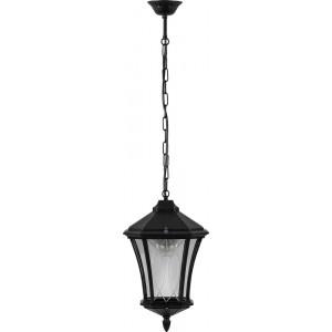 Светильник садово-парковый Feron PL4034 восьмигранный на цепочке 60W 230V E27, черный