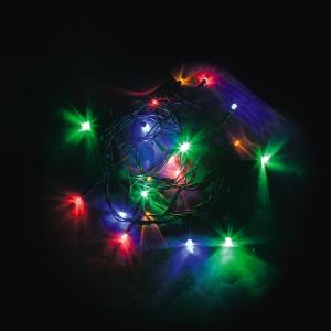 Светодиодная гирлянда Feron CL02 линейная 2м +1.5м 230V разноцветная c питанием от сети