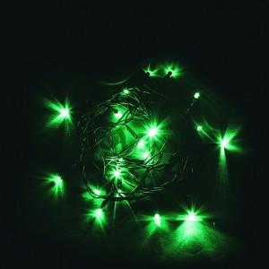 Светодиодная гирлянда Feron CL02 линейная 2м +1.5м 230V зеленый c питанием от сети