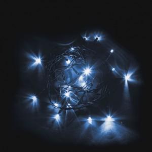 Светодиодная гирлянда Feron CL02 линейная 2м +1.5м 230V синий c питанием от сети