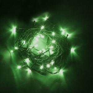 Светодиодная гирлянда Feron CL03 линейная 4м +1.5м 230V зеленый c питанием от сети