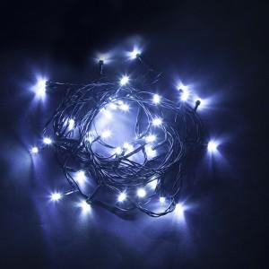 Светодиодная гирлянда Feron CL03 линейная 4м +1.5м 230V синий c питанием от сети