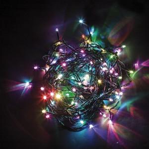 Светодиодная гирлянда Feron CL04 линейная 6м +1.5м 230V разноцветная c питанием от сети