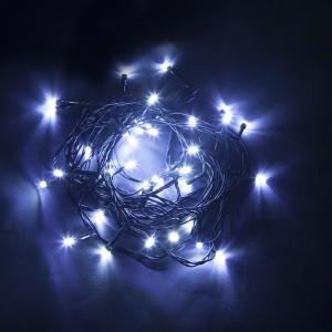 Светодиодная гирлянда Feron CL04 линейная 6м +1.5м 230V синий с питанием от сети
