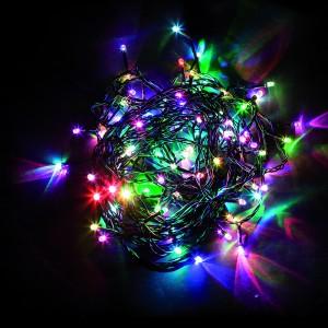 Светодиодная гирлянда Feron CL05 линейная 10м +1.5м 230V разноцветная c питанием от сети