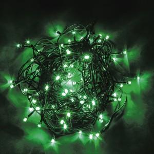 Светодиодная гирлянда Feron CL05 линейная 10м +1.5м 230V зеленый c питанием от сети
