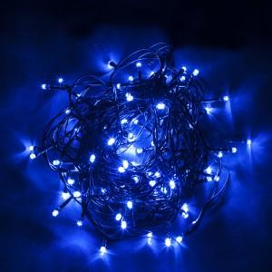 Светодиодная гирлянда Feron CL05 линейная 10м +1.5м 230V синий c питанием от сети