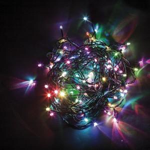 Светодиодная гирлянда Feron CL06 линейная 20м + 1.5м 230V разноцветная c питанием от сети