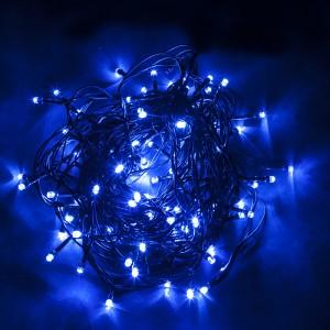Светодиодная гирлянда Feron CL06 линейная 20м + 1.5м 230V синий c питанием от сети