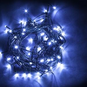 Светодиодная гирлянда Feron CL07 линейная 40м + 3м 230V синий c питанием от сети
