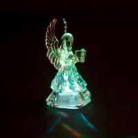 Световая фигура, прозрачный пластик, 1LED (RGB), 3*AA, 90мм, LT100