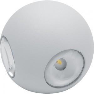 Светильник садово-парковый Feron DH102, 4*1W, 400Lm, 4000K, белый