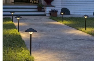 Скидка недели от 10% на все светильники на столбе