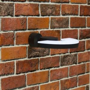 Уличный настенный светильник Citilux CLU03W Черный