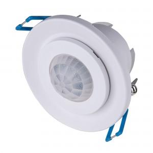 Инфракрасный датчик движения 8m 2,2-4m 800W IP20 360 Белый SNS-M-12