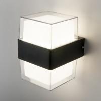 Maul черный уличный настенный светодиодный светильник 1519 TECHNO LED