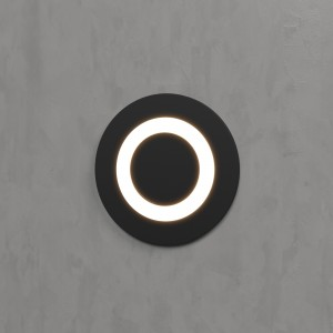 Подсветка для лестниц MRL LED 1107 чёрный