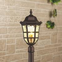 Dorado F кофейное золото уличный светильник на столбе IP44 GL 1013F
