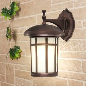 Lepus D кофейное золото уличный настенный светильник GL 1016D